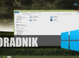 Jak przywrócić widok bibliotek w oknie eksploratora Windows 8.1