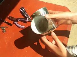Jak zrobić kuchenkę turystyczną z puszek
