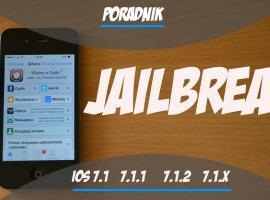 Jak zrobić Jailbreak na urządzeniach z iOS 7.1, 7.1.1 i 7.1.2