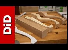 Jak wykonać profilowaną nogę drewnianą