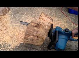 Jak ciąć drewno aby pozyskać trociny dla gryzoni