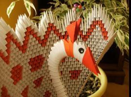 Jak wykonać pawia origami