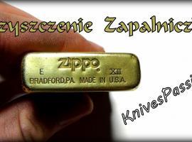 Jak wyczyścić zapalniczkę Zippo