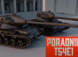 Jak grać czołgiem T54E1 w World of Tanks