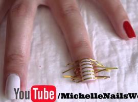 Jak pomalować paznokcie za pomocą pasków