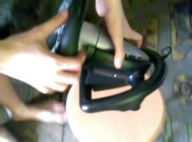 Jak przymocować kierownicę do gier za pomocą ... mydła