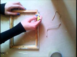 Jak zrobić wieszak na klucze w formie obrazu