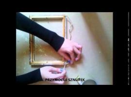 Jak zrobić skrytkę z ramki na zdjęcia