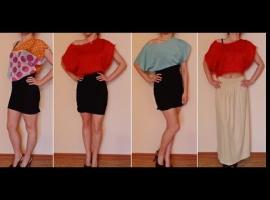Jak przerobić dwie sukienki aby stworzyć różne stylizacje
