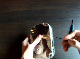 Jak zrobić podkałdki pod kubki z ... dysku twardego