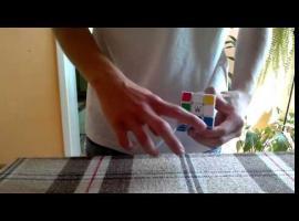 Jak ułożyć kostkę Rubika jednym ruchem