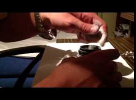 Jak zrobić pudełko z dozownikiem na magnezję
