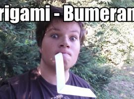 Jak zrobić bumerang z origami