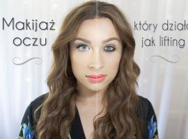 Jak korzystać z trików makijażowych -  efekt liftingu