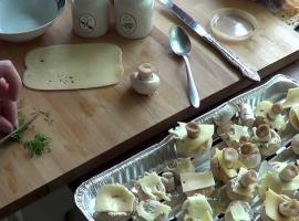 Jak zrobić faszerowane pieczarki na grilla