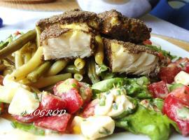 Jak przygotować rybę po myśliwsku z fasolką szparagową