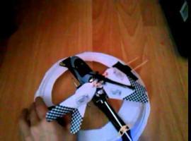 Jak zrobić zabawkę - poduszkowiec z helikoptera