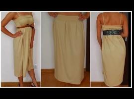 Jak uszyć spódniczkę i sukienkę w jednym