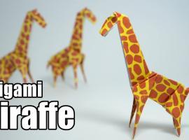 Jak złożyć żyrafę z papieru w profesjonalny sposób