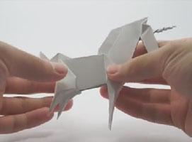 Jak zrobić jednorożca origami
