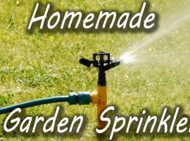 Jak zrobić ogrodowy zraszacz DIY