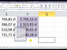 Jak korzystać z Excel 2010 - powiększanie i pomniejszanie arkusza