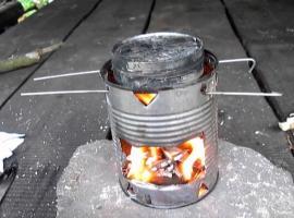 Jak zrobić niezawodne źródło ognia - zwęglona bawełna