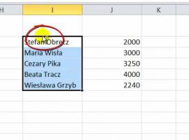 Jak korzystać z Excel 2010 - Kopiowanie i wycinanie komórek
