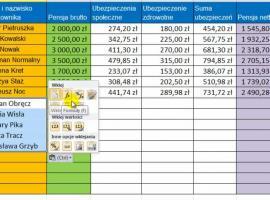 Jak korzystać z Excel 2010 - Formatowanie przy kopiowaniu i wklejaniu