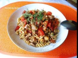 Jak zrobić tani obiad - podroby w sosie pomidorowym