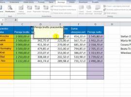 Jak korzystać z Excel 2010 - Komentarze