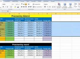Jak korzystać z Excel 2010 - Ukrywanie kolumn i wierszy