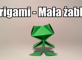 Jak zrobić małą żabkę z origami