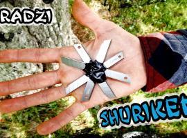 Jak zrobić shuriken'a z wymiennych ostrzy noży