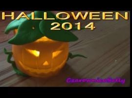 Jak zrobić lampion na Halloween w kształcie wyciętej dyni