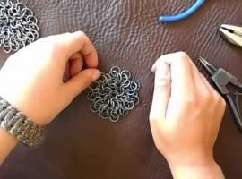 Jak zrobić kolczugę techniką 1 w 6 - czepiec kolczy