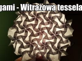 Jak zrobić tesselację witrażową z origami