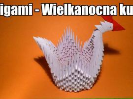 Jak zrobić wielkanocną kurkę origami