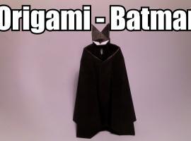 Jak zrobić postać Batmana z origami