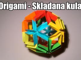 Jak zrobić składaną kulę z origami