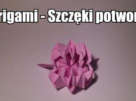 Jak zrobić papierowe szczęki potwora