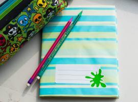 Jak zrobić okładki na zeszyty w dekoracyjnym stylu