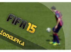 Jak wykonać prostą sztuczkę piłkarską w Fifa 15 - żonglerka