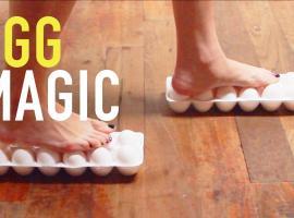 Jak wykonać 4 zaskakujące triki z jajkami