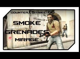 Jak rzucać granaty na mapie de mirage w CS:GO