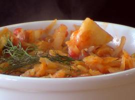 Jak przygotować młodą kapustę w pomidorach