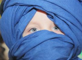 Jak zawiązać turban pełny