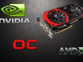Jak podkręcić kartę graficzną Nvidia / AMD
