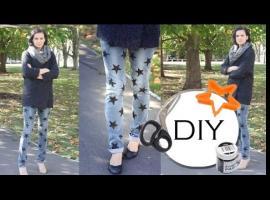 Jak przerobić stare jeansy - Star Style