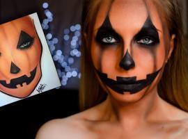 Jak wykonać makijaż na Halloween - Pumpkin Style